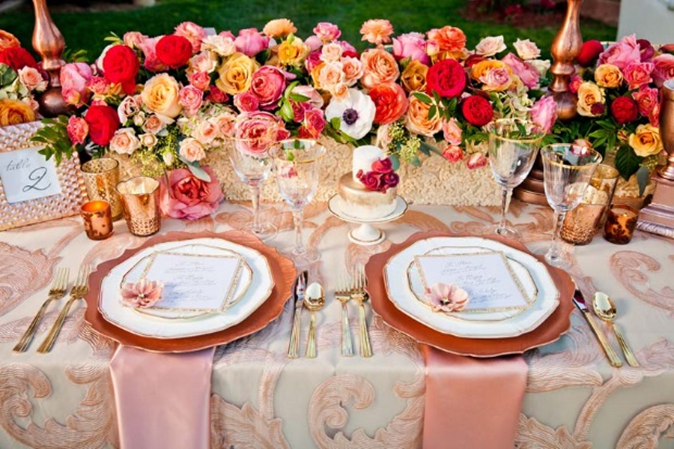 Plan Your Own Rose-Themed Wedding!